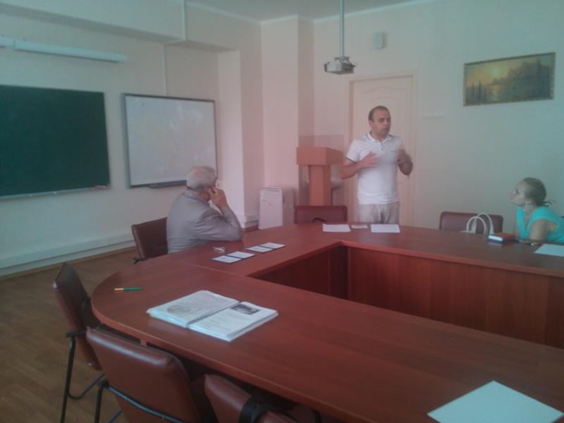 Захист педагогічних проектів випускниками Авторської школи. Червень 2014 р.