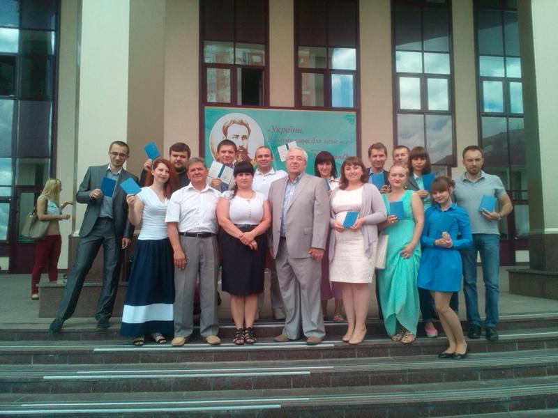 Випускники Авторської школи. Червень 2014 р.