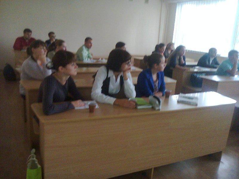 Заняття з групами молодих вчителів в КУ ім. Бориса Грінченка
