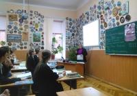 На відкритому уроці у Заслуженого вчителя України Лохи Л.О.